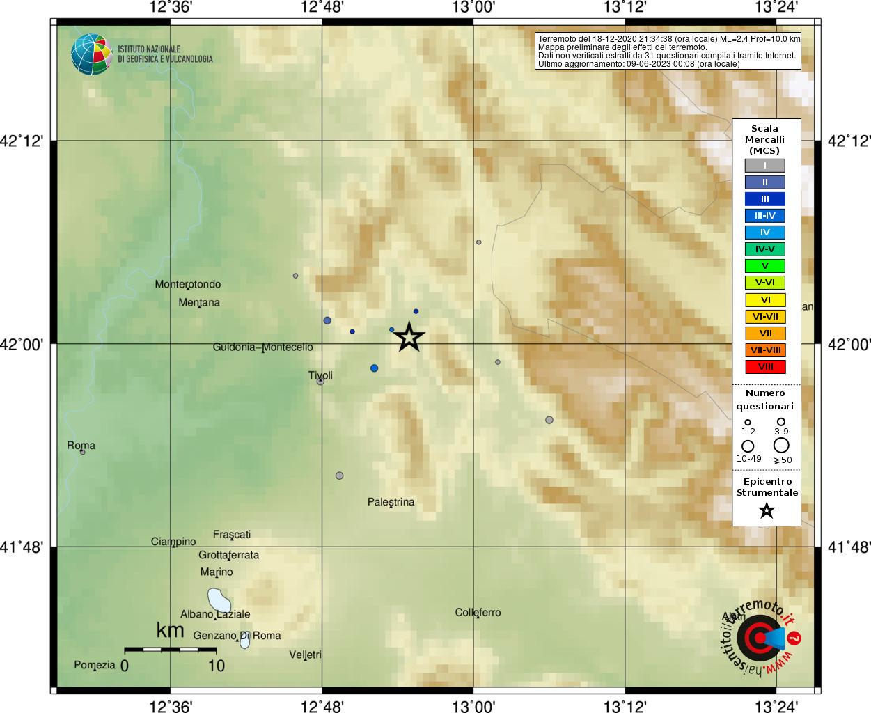 Sciame sismico Vicovaro (RM) 25811061_mcs